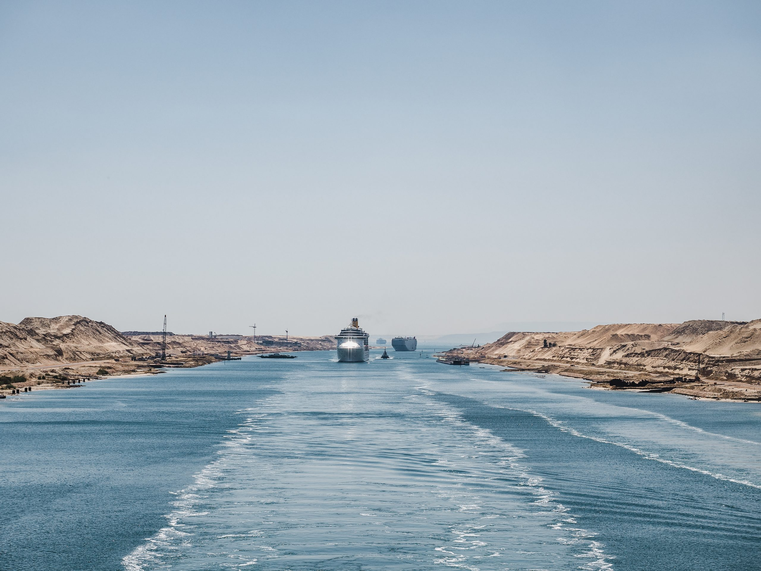 Ever Given Finally Released from the Suez Canal